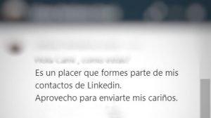 mensajes de conexión de LinkedIn